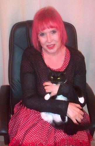 Me and Mittens at New Year